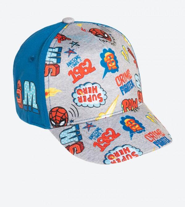 Printed Basketball Cap - Multi