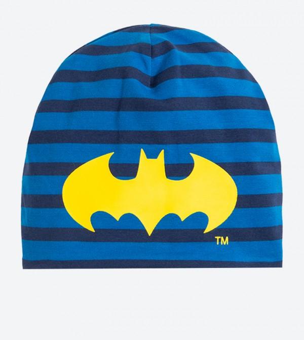 Batman Logo Graphic Beanie - Blue