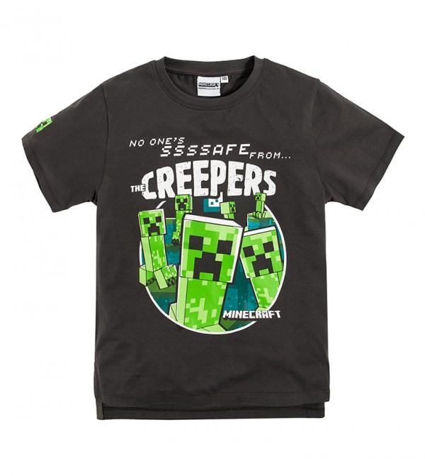T-Shirt S/S-Anthracite