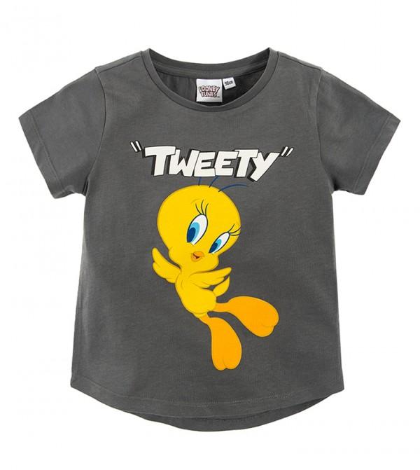 T-Shirt S/S-Grey