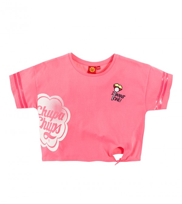 T-Shirt S/S-Fluo Pink