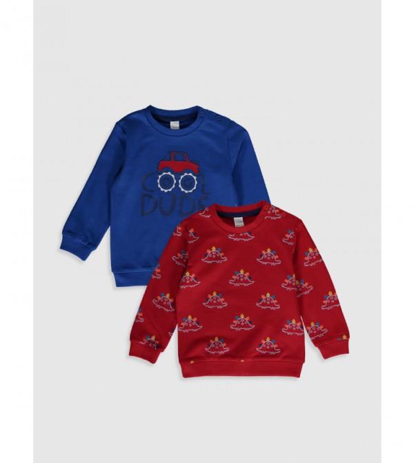 Jersey Sweatshirt - Sax
