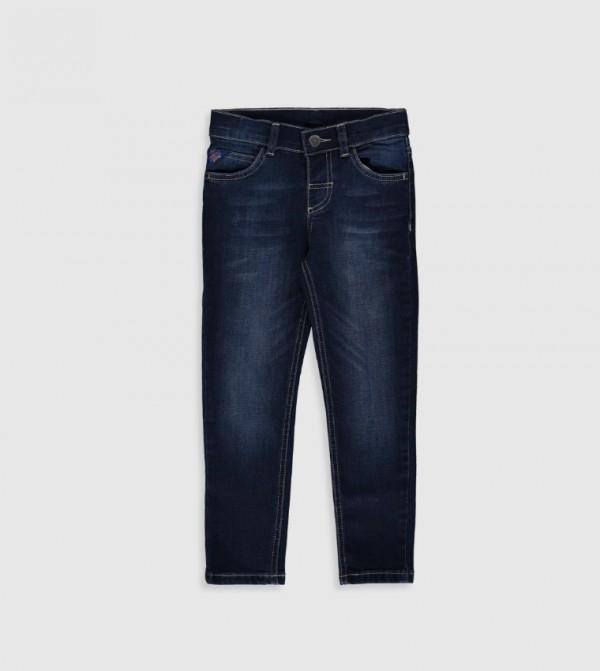 بنطال جينز منسوج