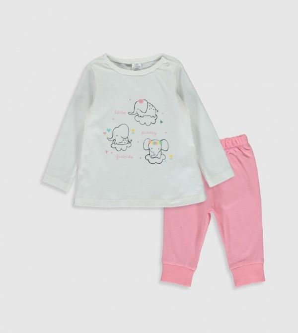 Pyjamas - Ecru