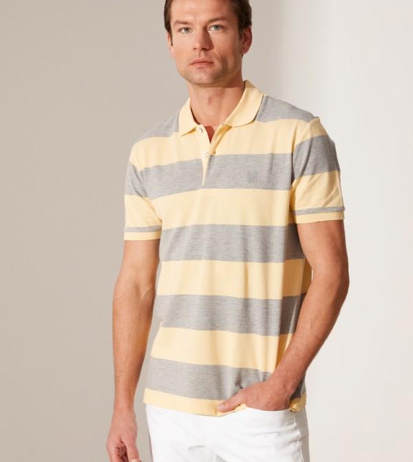 Jersey Body Tshirt Short Sleeves - Yellow