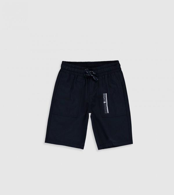 Woven Shorts - Deep Navy
