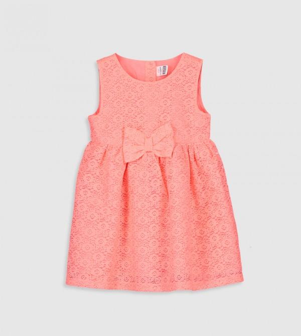 Lace Dress-Pink