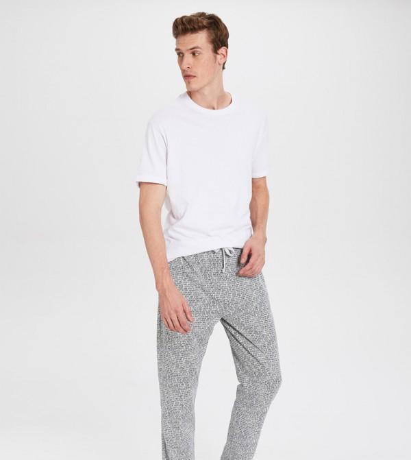 Key Pyjamas - Grey Printed