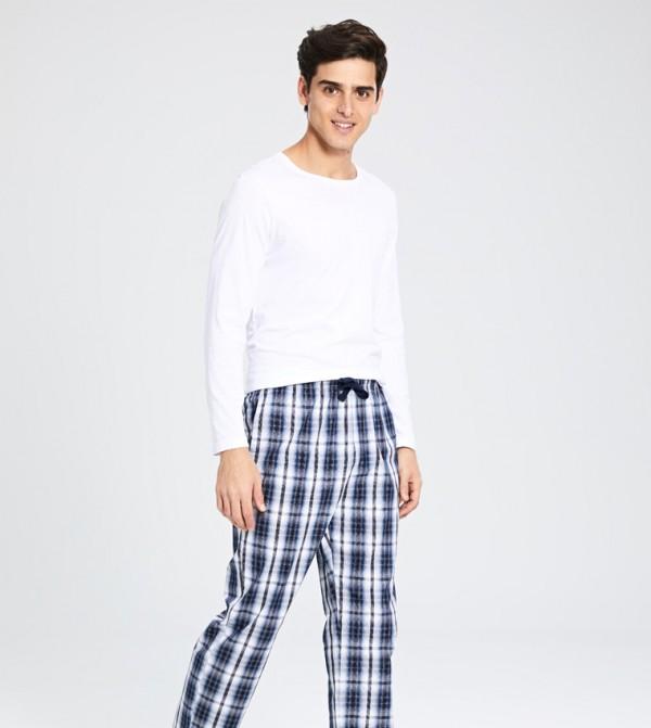 Key Pyjamas - Navy Checked