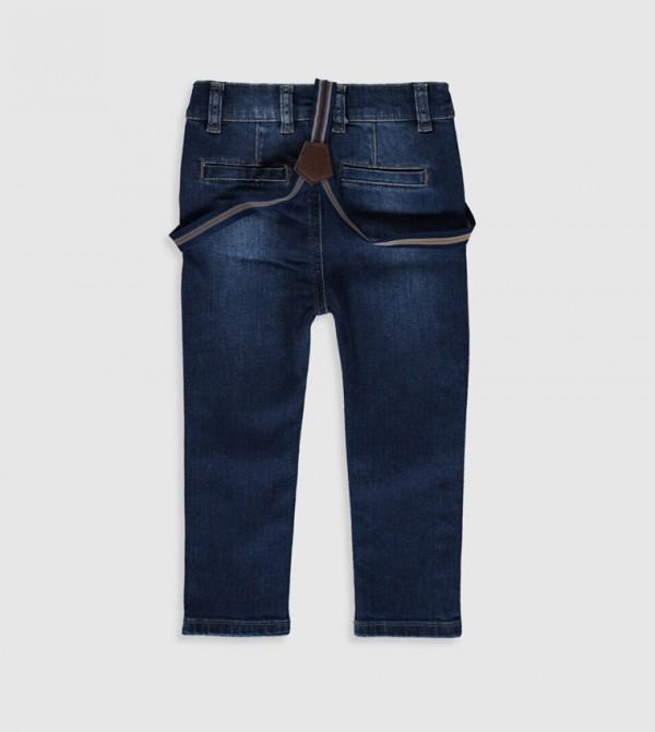 Woven Denim Trousers - Dark Rodeo