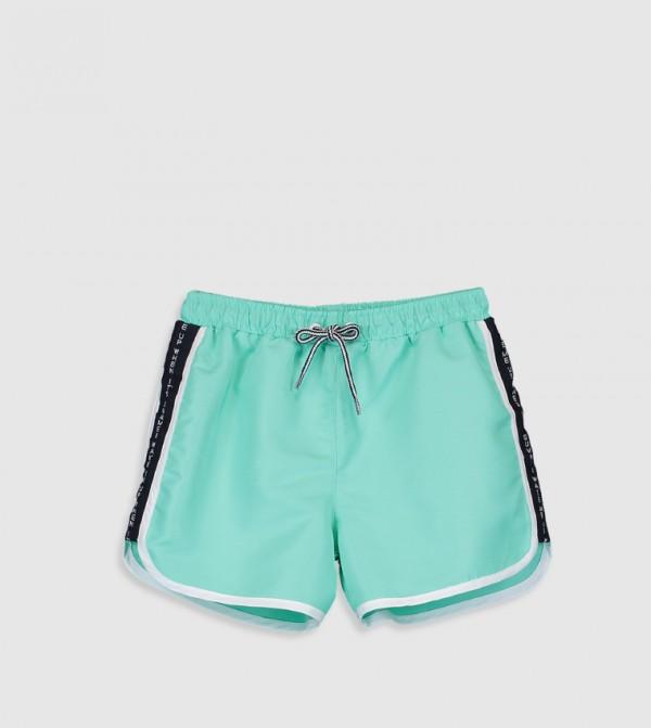 Standard Swim Shorts-Green