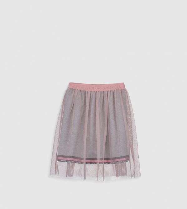 Jersey Skirt - Soft Pink