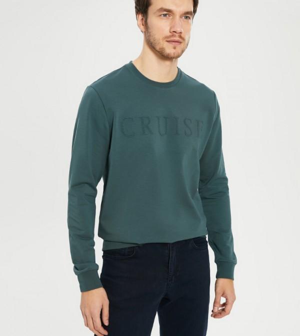 Jersey Body Tshirt Long Sleeves - Petrol
