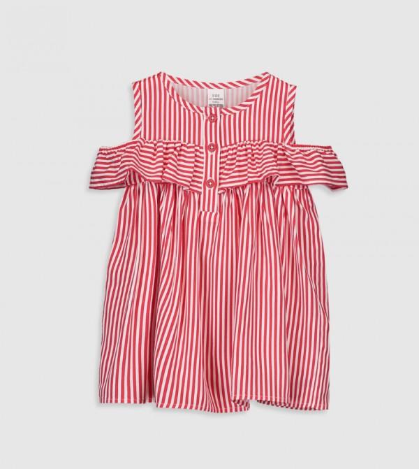 Newborn Set - White Striped