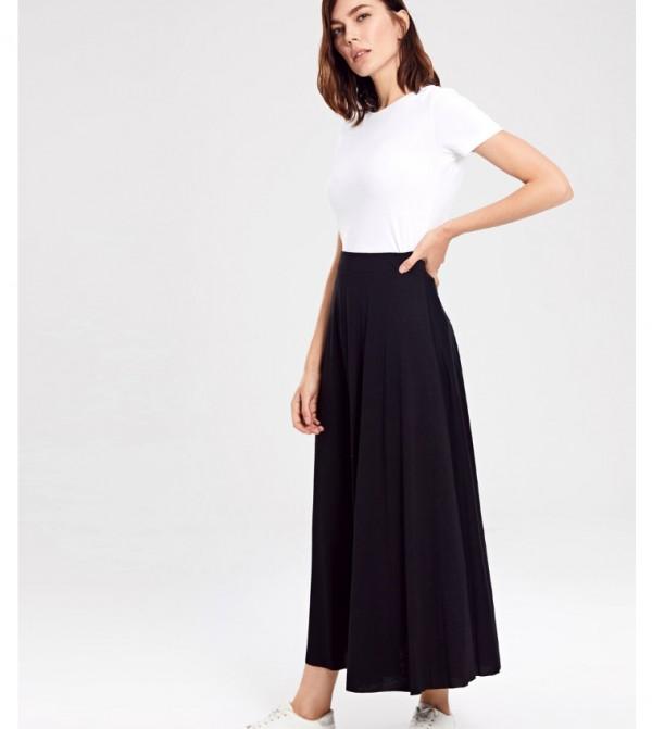 Jersey Skirt - New Black