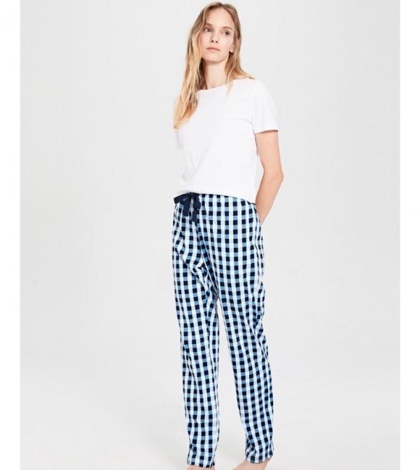 Key Pyjamas - Light Blue Print