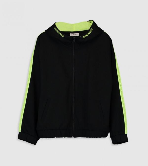 Jersey Cardigan - New Black