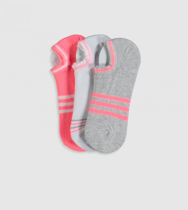Socks Trainer Liner - Grey Melange