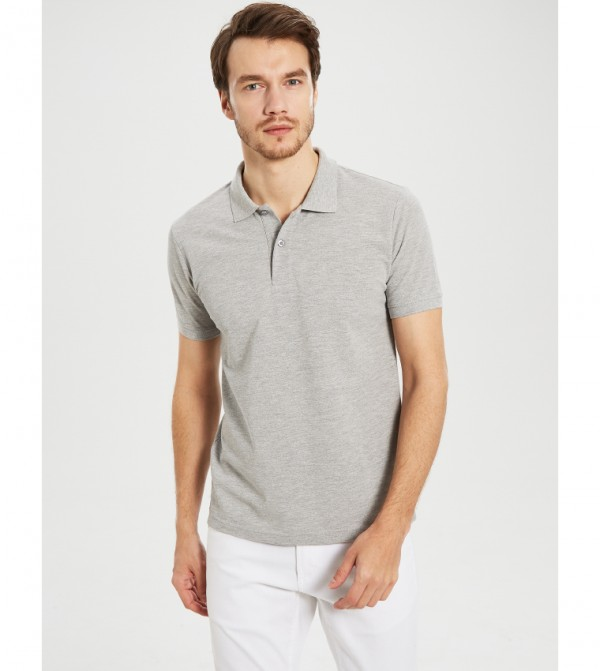 Jersey Body- T-Shirt Short-Sleeved-Dwp-Navy Blue-Grey