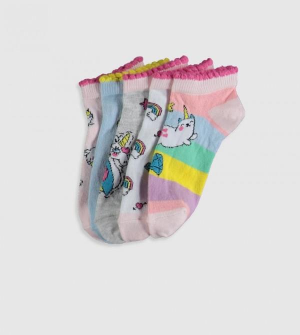 Socks Trainer Liner - Sweet Pink
