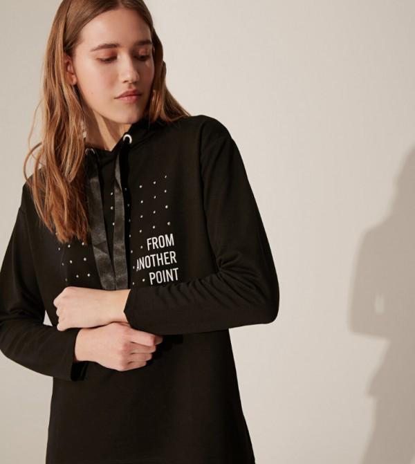 Jersey Body Tshirt Long Sleeves - New Black