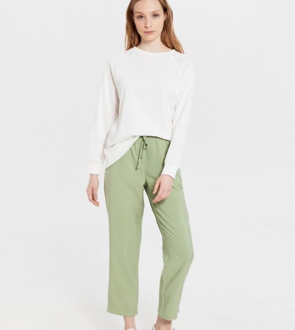 Woven Trousers - Mint Green