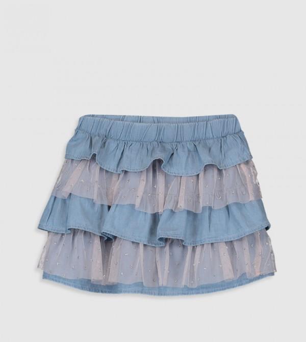 تنورة جينز محبوكة - سوبر ال راديوا