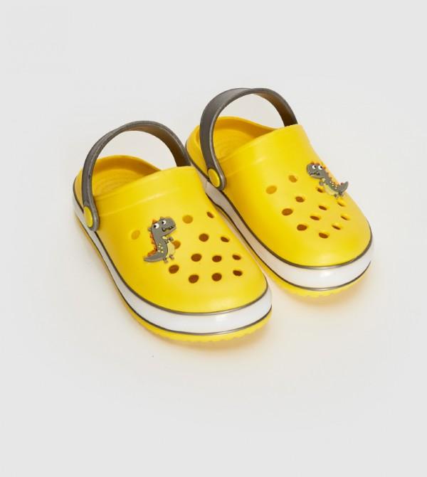 Sandals-Yellow