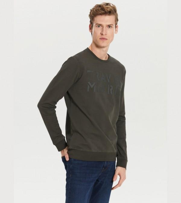 Jersey Body Tshirt Long Sleeves - Khaki