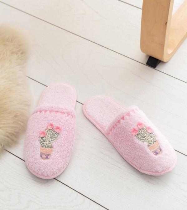 Erkek Bathroom Slippers-Pink