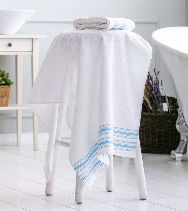Erkek Bath Towel-White