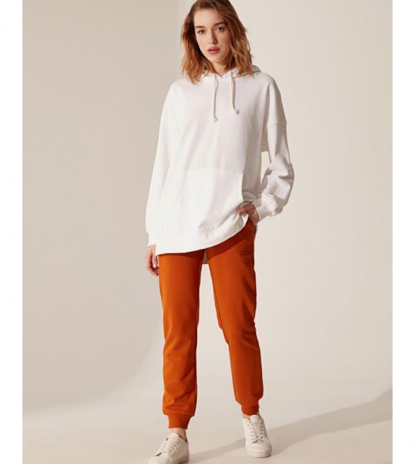 Standard Standard Thick 3 Thread Sweatpants-Orange