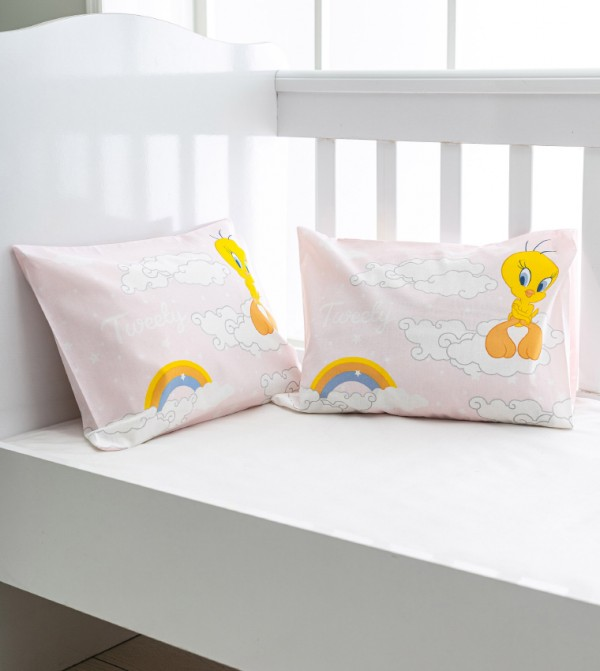 Printed Baby Pillow Case-Mix