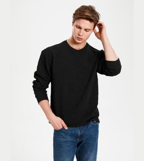 Jersey Sweatshirt - New Black