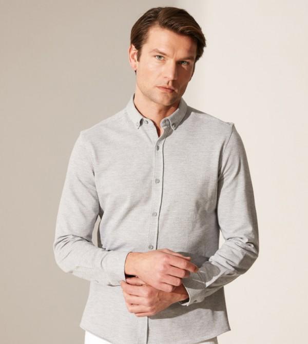 Woven Blouse - Grey