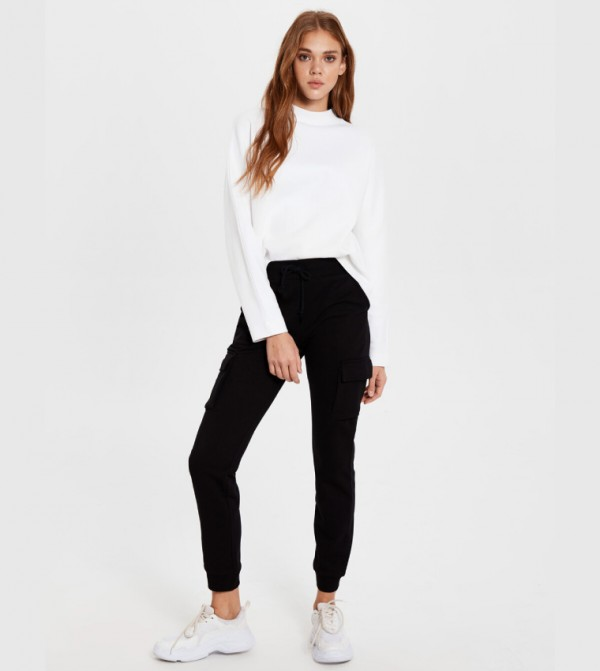 Jersey Trousers - New Black