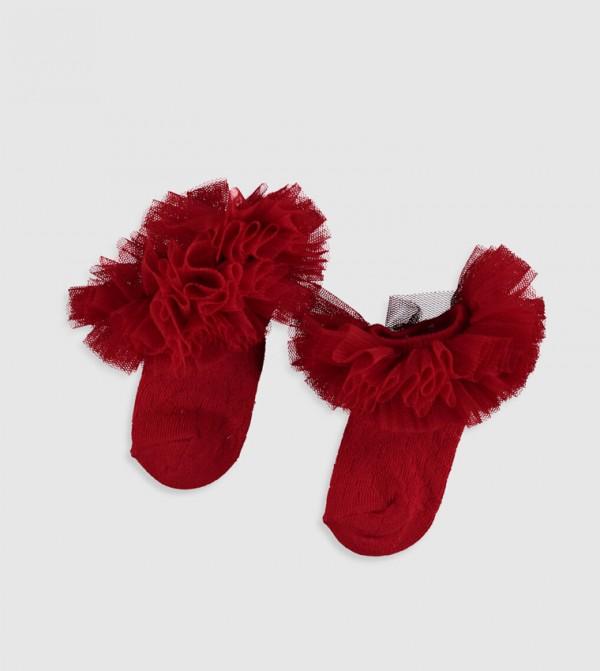 Socks Trainer Liner - Red