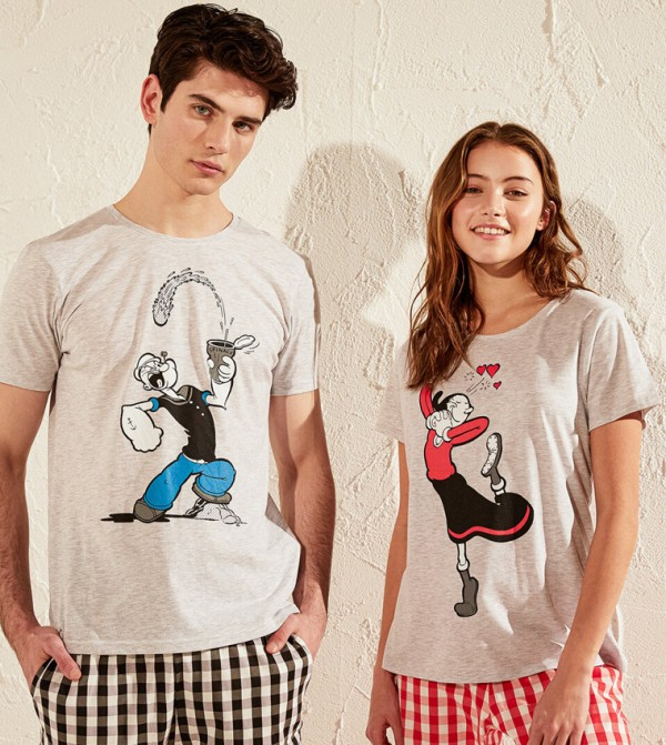 Pyjamas - Black Printed