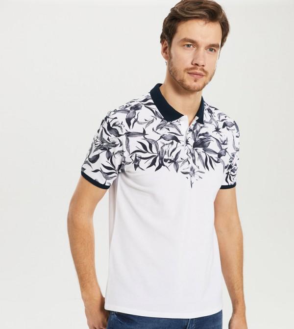 Jersey Body Tshirt Short Sleeves - White