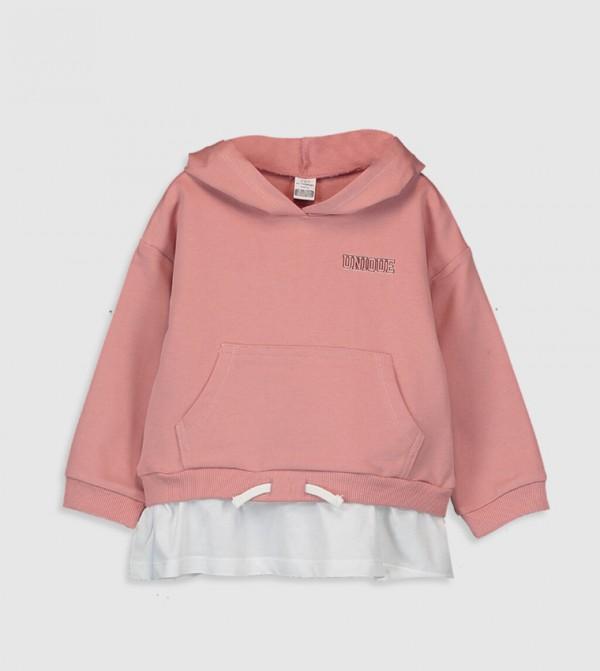 Jersey Sweatshirt - Dull Pink