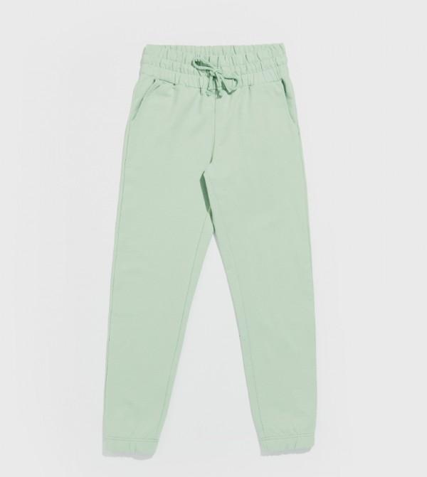 Standard Standard Medium Thickness 2 Thread Sweatpants-Green