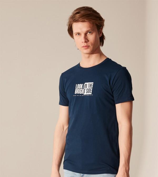 Jersey Body Tshirt Short Sleeves - Navy