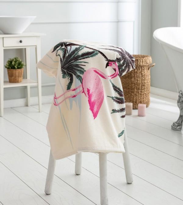 Velvet Bath Towel-Mix