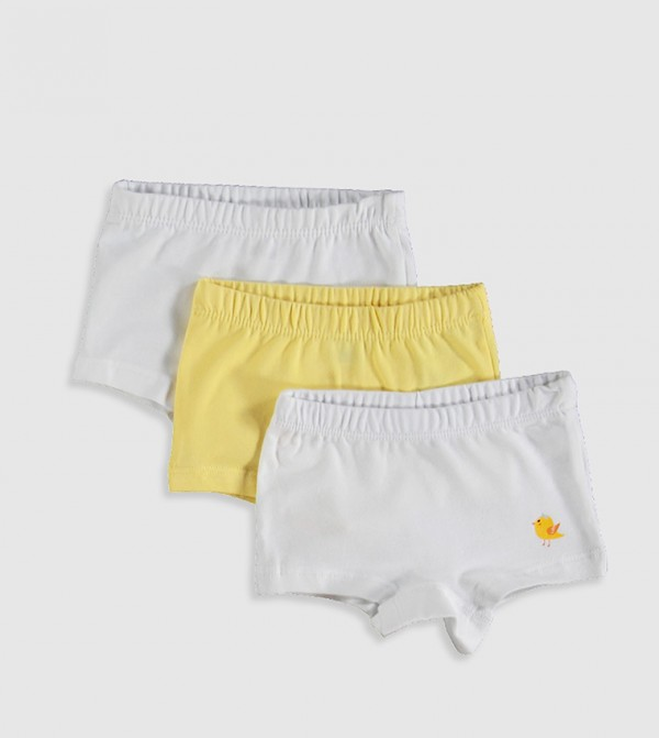 3-Pack Boxers-White
