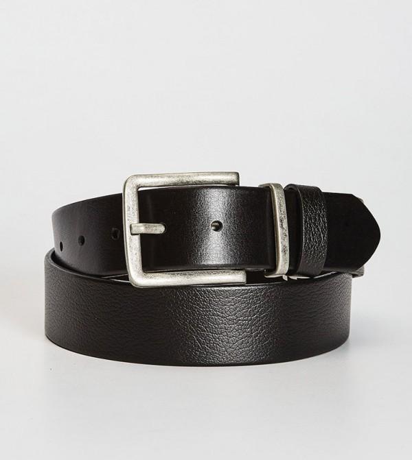 Genuine Leather Belt-Black