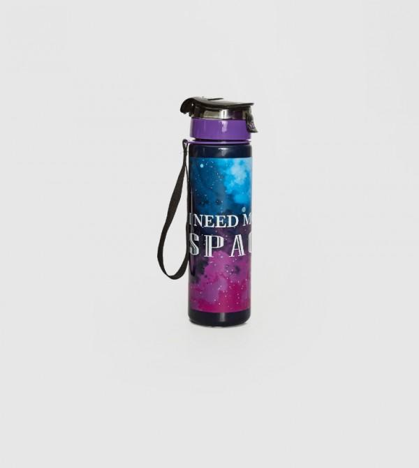 زجاجة ماء مطبوعة