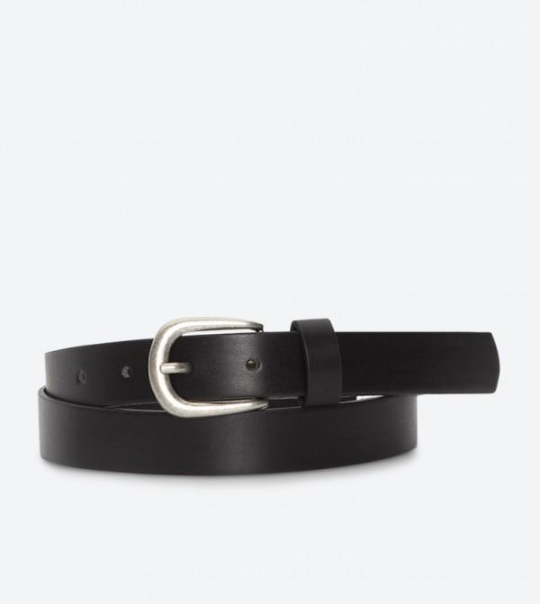 حزام بلون أسود
