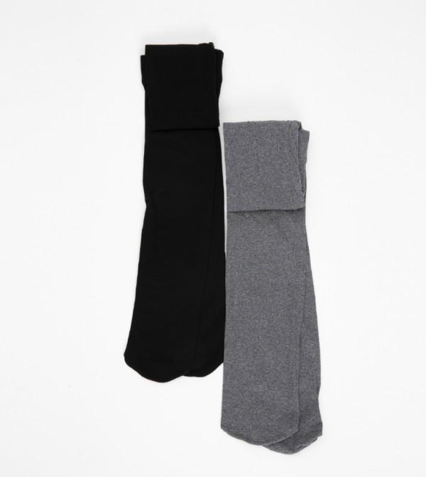 Pantyhose 2 Pieces-Grey