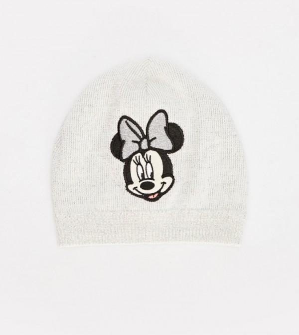 قبعة تريكو مطبّعة بنمط ميني ماوس
