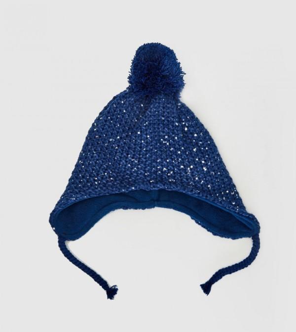 Knitwear Beanie-Light Navy